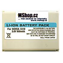 Bat. Nokia 3310/3410 Li-ION 1000 mAh AMAX