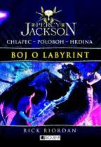 Rick Riordan: Percy Jackson Boj o labyrint