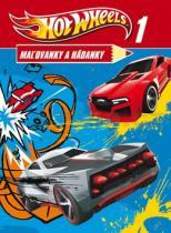 Hot Wheels Malovanky a hádanky 1