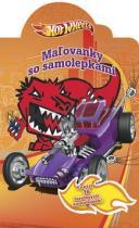 Hot Wheels Malovanky so samolepkami