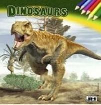 Dinosaurus omalovánka