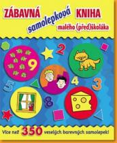 Zábavná samolepková kniha malého předškoláka