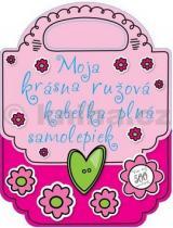 Moja krásna ružová kabelka plná samolepiek