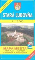 Stará Lubovňa 1 : 10 000 Mapa mesta Town plan Stadtplan Plan miasta Várostérkép