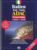 Italien Italy Italia Travel Atlas 1:200 000/1:400 000