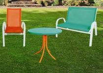 BB Zahradní stůl kovový 2429