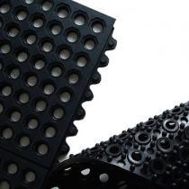 OEM Průmyslová rohož ARIOSO VENT 25 - modul 0,9 x 0,9 m, 25% NITRIL