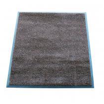 OEM Textilní rohož zátěžová MAGIC Hnědá, 75 x 85 cm