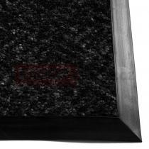 OEM Vnitřní dočišťovací rohož Cleanwell atrium 9 mm s pryžovým náběhem - Černá, 90 x 120 cm