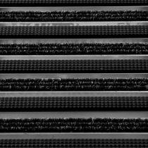 OEM Vnější rohož na hrubou špínu Topwell 22 mm Tmavě hnědá, 80 x 50 cm