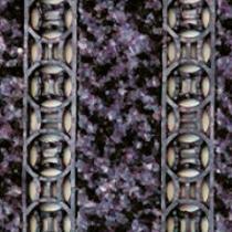 OEM Vstupní rohož na hrubé nečistoty Danwell Modrá, 80 x 50 cm