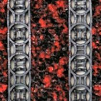 OEM Vstupní rohož na hrubé nečistoty Danwell Červená, 80 x 50 cm