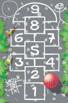 OEM Dětský hrací koberec Panák 1001300 100 x 150 cm