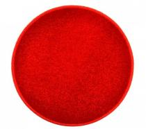 OEM Kulatý koberec Eton Červená 57 cm