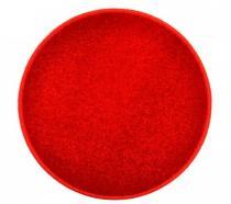 OEM Kulatý koberec Eton Červená 80 cm