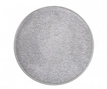 OEM Kulatý koberec Eton Šedá 100 cm