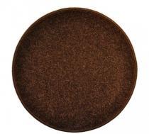OEM Kulatý koberec Eton Hnědá 80 cm