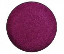 OEM Kulatý koberec Eton 100 cm Fialová