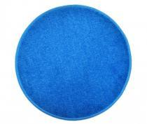 OEM Kulatý koberec Eton Světle modrá 80 cm