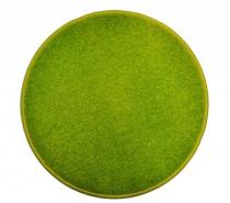 OEM Kulatý koberec Eton Zelená 80 cm