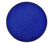 OEM Kulatý koberec Eton Tmavě modrá 100 cm