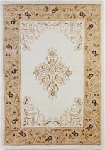 OEM Luxusní koberec Paris bílý 1834A 170 x 240 cm