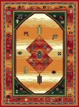 OEM Koberec Teheran 375 Red 130 x 200 cm