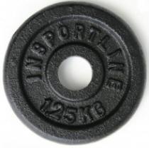 INSPORTLINE Kotouč inSPORTLine 1,25kg ocelový