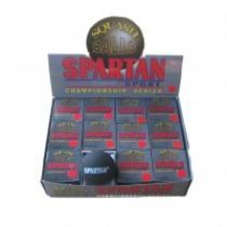 SPARTAN Squash míček - 2x žlutá tečka