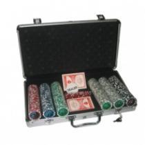 MASTER Poker set 300 v alu kufru s označením hodnot