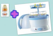 NUK Elektrický parní sterilizátor Vapo 2v1