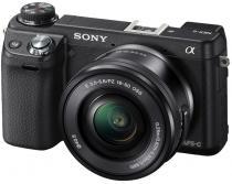 Sony NEX-6 + 16-50 mm + 55-210 mm