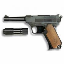 EDISON Policejní pistole Lionmatic s tlumičem 26,5 kapsle