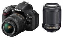 Nikon D5200 + 18-55 mm AF-S DX VR + 55-200 mm AF-S VR
