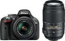 Nikon D5200 + 18-55 mm AF-S DX VR + 55-300 mm AF-S VR