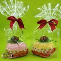 Zixi ručníček - dortík s třešničkou