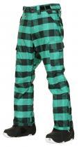Nugget Mentor - kalhoty Emerald Plaid