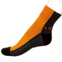 Phuseckle ponožky  půlené oranžovo/černé