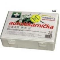 Autolékárnička plastová bílá 182/2011 AGBA