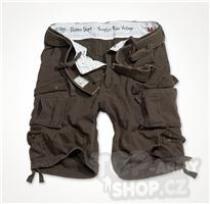 Surplus Division Shorts hnědé Kraťasy