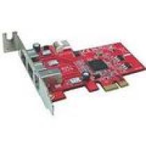 Kouwell PE-107/ PCI-E řadič/ TI chipset/ 3x 1394a/b