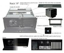 Eurocase IPC 4U-500, rack case, bez zdroje