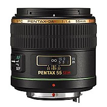 Pentax DA 55 mm f/1,4 SDM