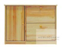 Meblo-Drew skříňka na boty I + II