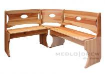 Meblo-Drew rohová lavice oválná