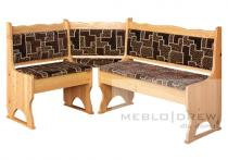 Meblo-Drew rohová lavice čalouněná