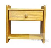 Meblo-Drew noční stolek Beata, vzor dub