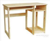Meblo-Drew PC stůl dřevěný azurový
