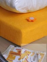 Prostěradlo Froté 180x200 žluté