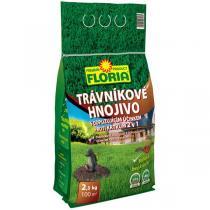 Agro FLORIA Trávníkové hnojivo s odpuzujícím účinkem proti krtkům 2,5kg